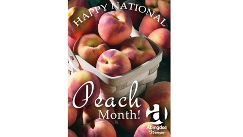 Happy National Peach Month!